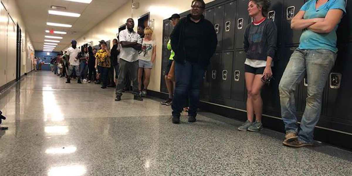 Board of Elections addresses long lines at polls, asking for volunteers