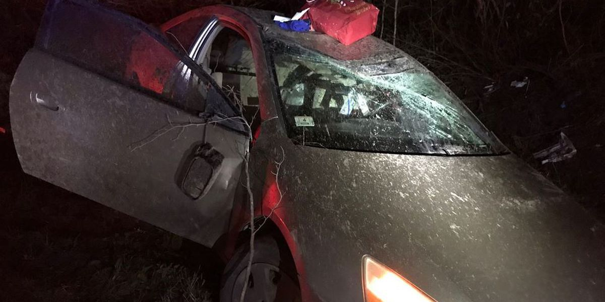 Emergency crews work accident with injuries in Berkeley County