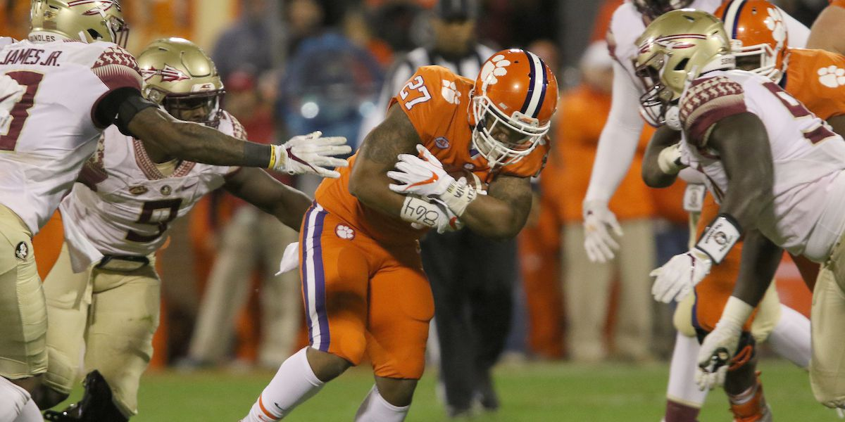 Clemson announces start time for Florida State matchup
