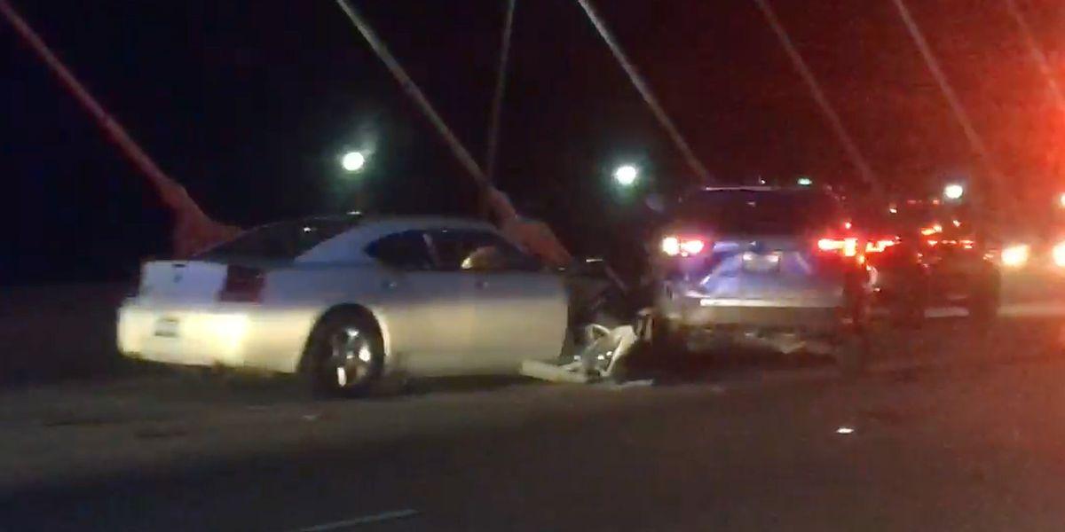Crews clear accidents on Ravenel Bridge