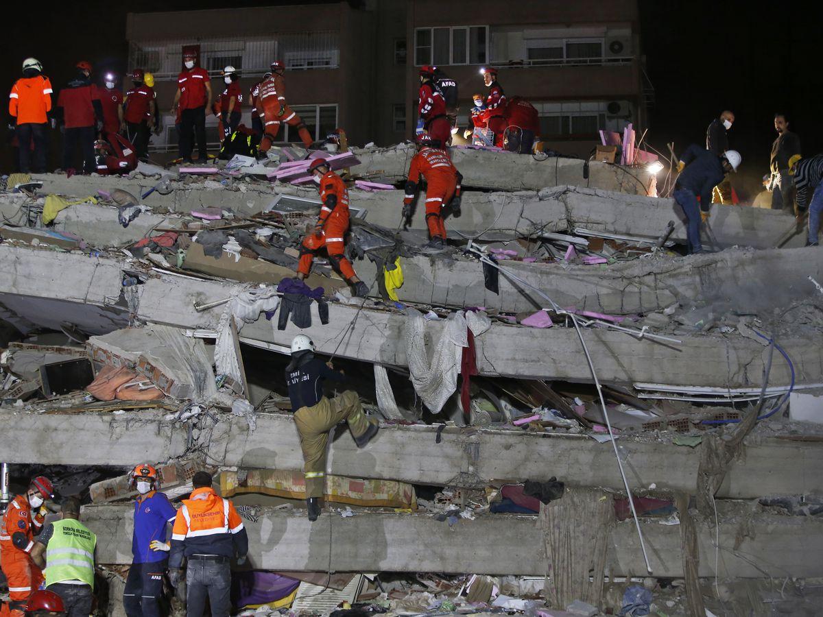 Death toll reaches 37 in quake that hit Turkey, Greek island