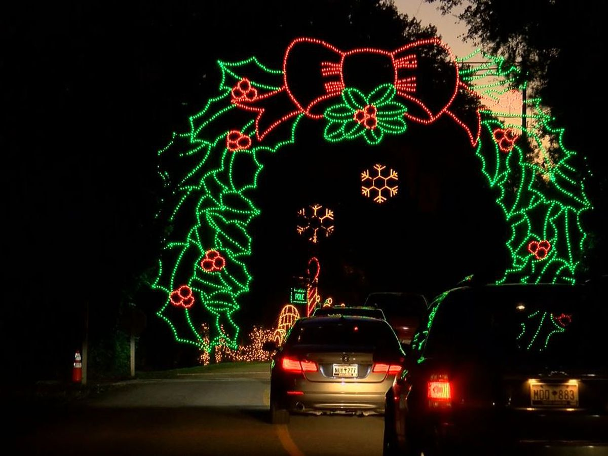 James Island Holiday Festival of Lights closed Friday because of flooding