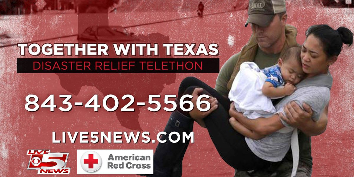 'Together with Texas' telethon raises more than $100k for disaster relief