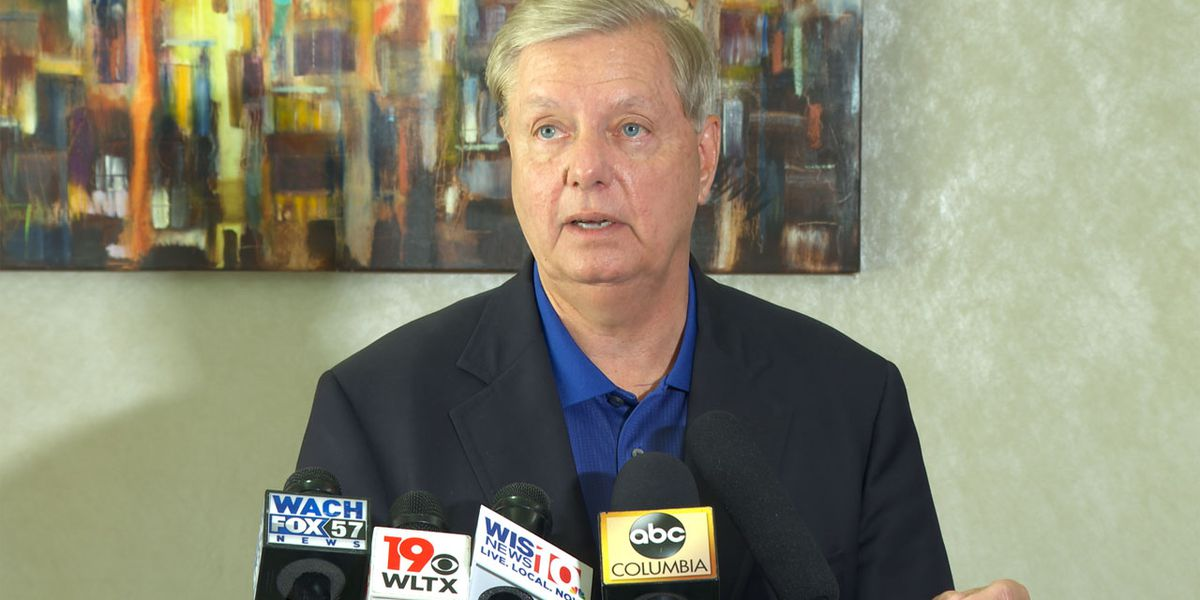 Sen. Graham urges SC residents to wear a mask during COVID-19 pandemic