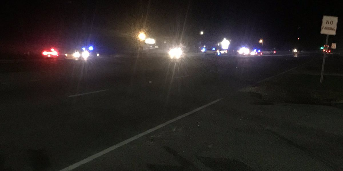 Roadway cleared after car chase leads to downed light pole on Savannah Highway