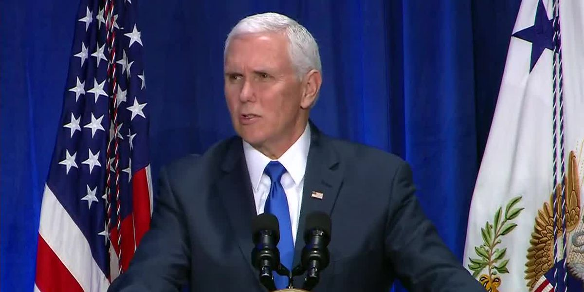 VP Pence to tour opportunity zones with Sen. Tim Scott in Columbia Thursday