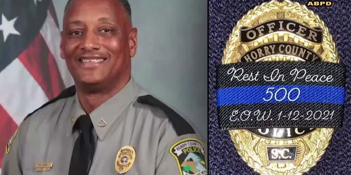 'Taken away too early': Family, friends line up to pay their respects to fallen HCPD officer