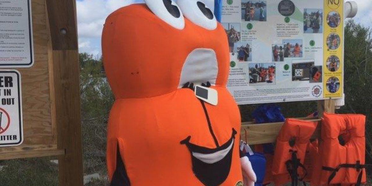 SCDNR unveils life jacket loaner board at Limehouse Boat Landing