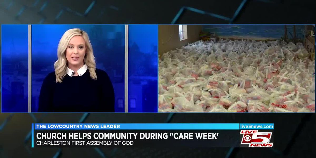 VIDEO: Church helps community during 'Care Week'