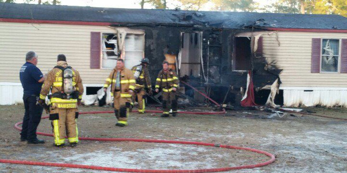 PICTURES: Colleton Co. firefighters save dog from house fire