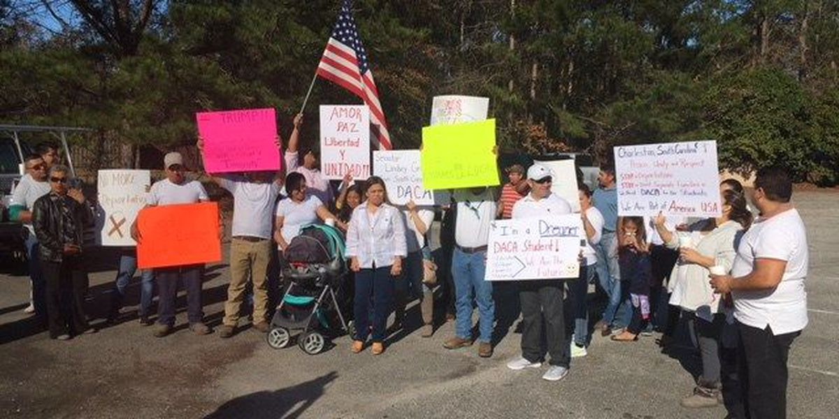 Lowcountry sees peaceful protests on Inauguration Day