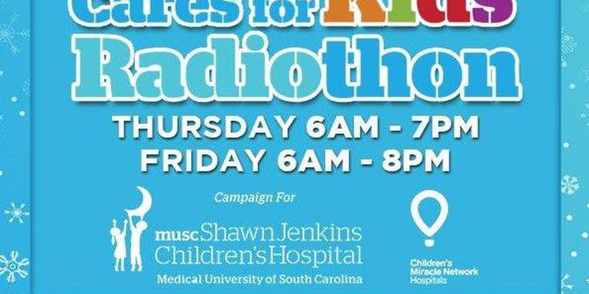 Radiothon benefiting MUSC children's hospital continues through Friday
