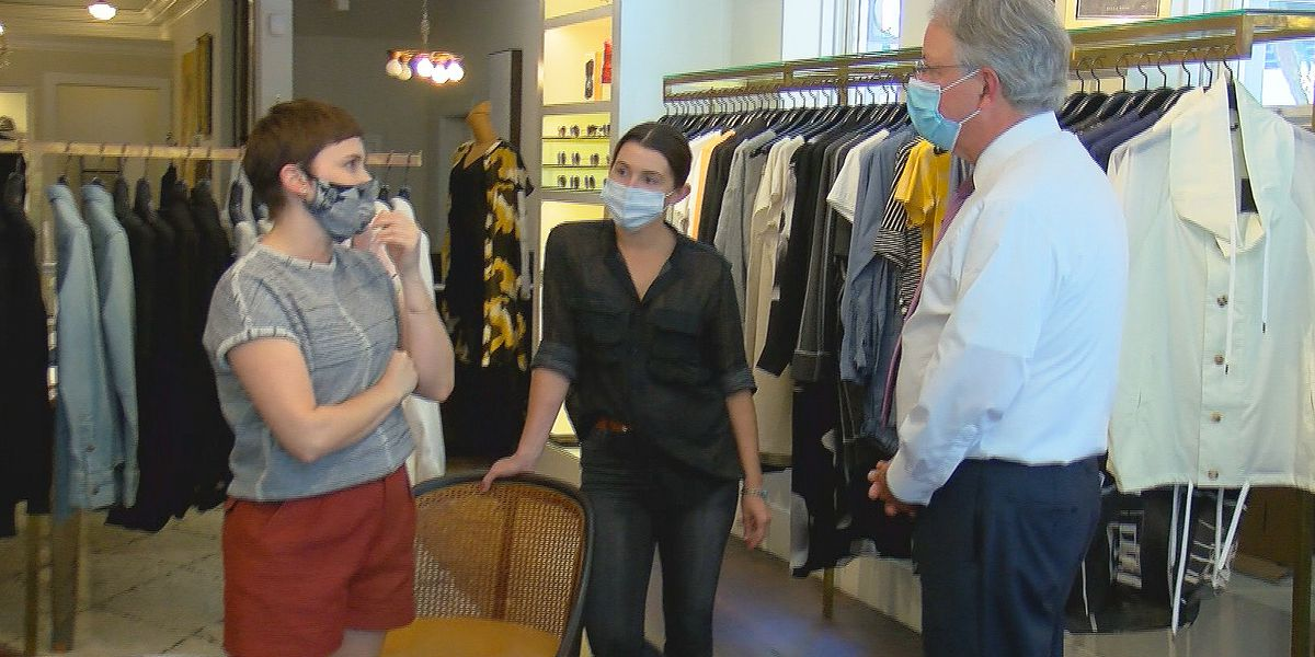 Charleston mayor looking to help businesses during pandemic