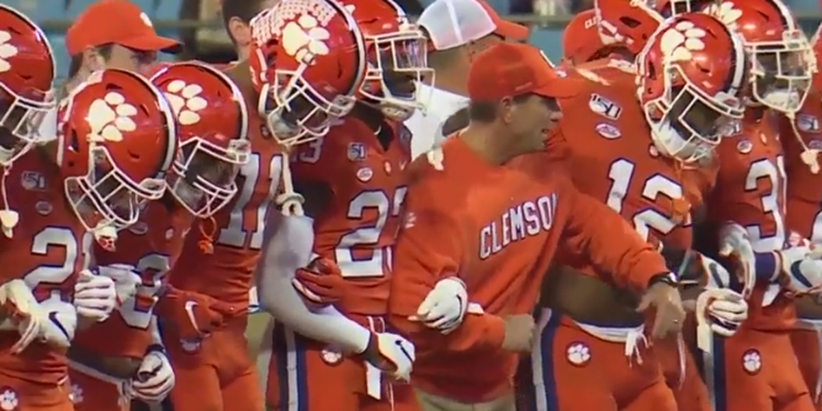 "Clemson football organizes ""A March for Change"" protest for Saturday"
