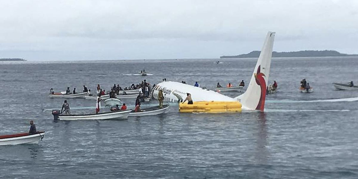Passenger's body found in Pacific lagoon after plane crash