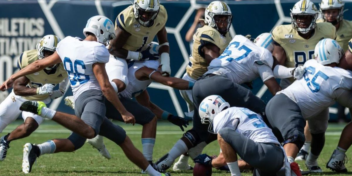 The Citadel's Godek Named SoCon Special Teams Player of the Week