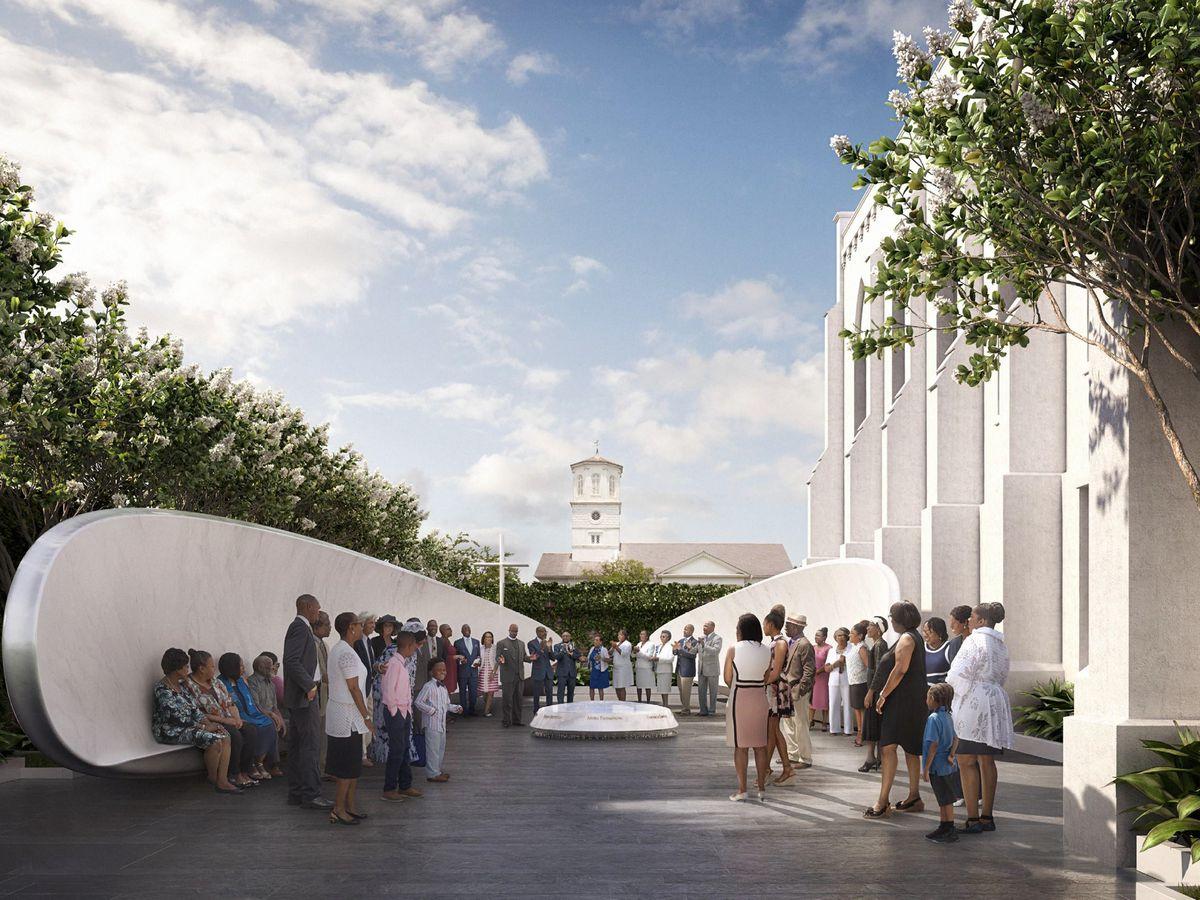 Emanuel 9 memorial design approved