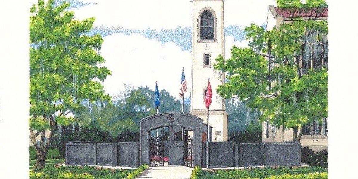 New Citadel War Memorial will honor fallen alumni