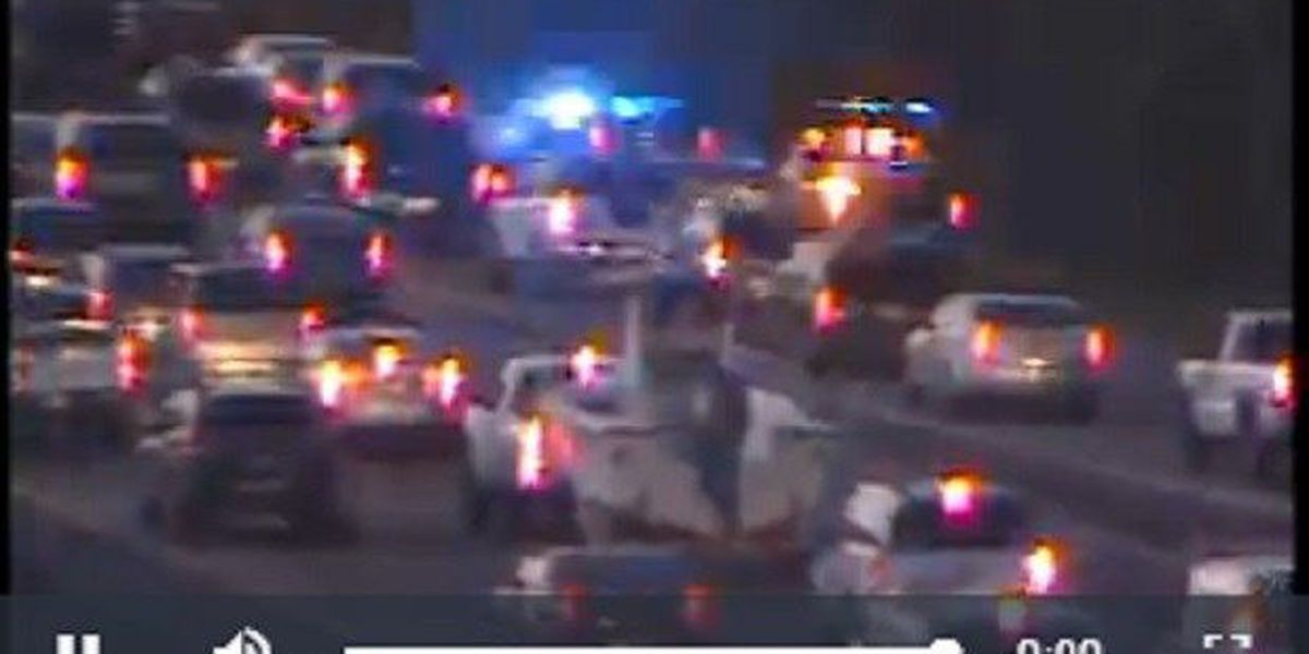 Accident on I-26EB cleared, lane reopens