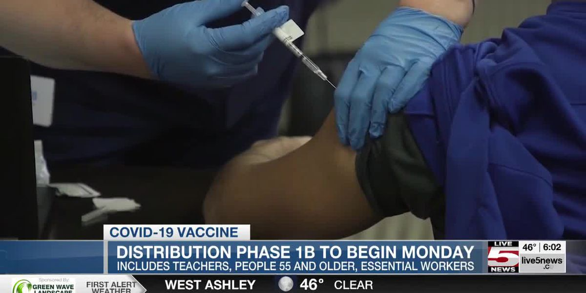 VIDEO: State vaccine rollout Phase 1B opens Monday