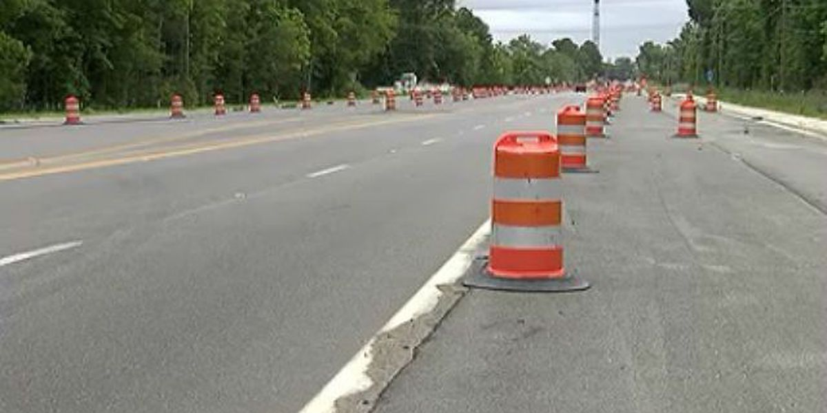 Traffic shift, nighttime lane closures extended in Bees Ferry Rd. project