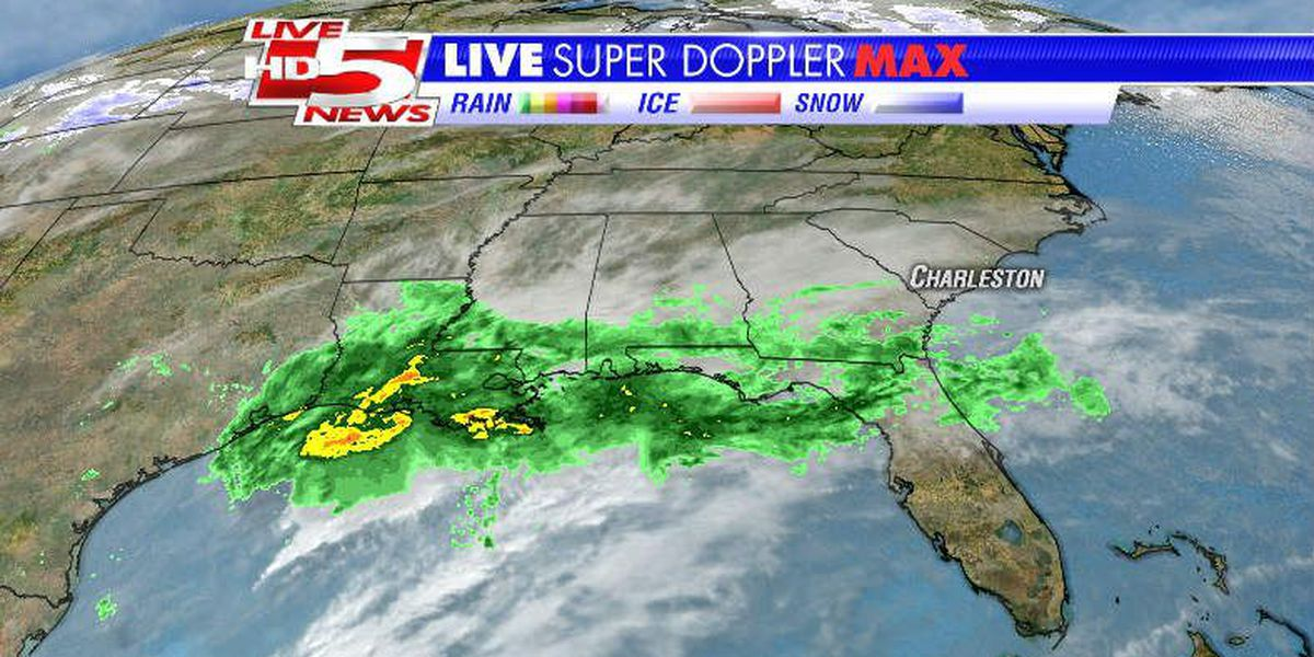 Rain, wind and cold for the Lowcountry