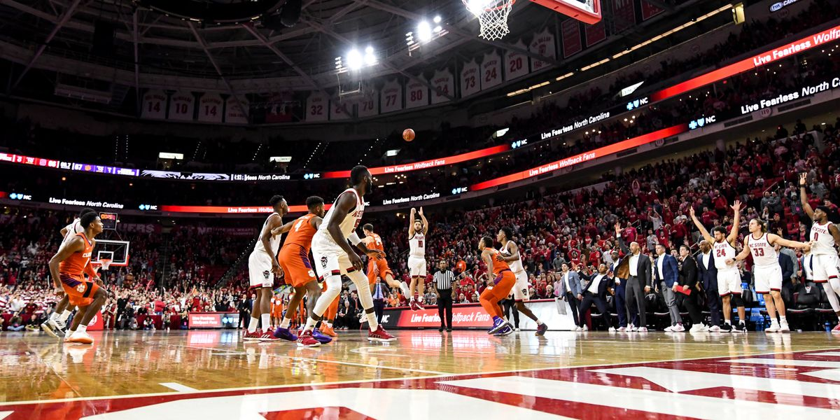 Clemson Beat at the Buzzer in Raleigh, 69-67