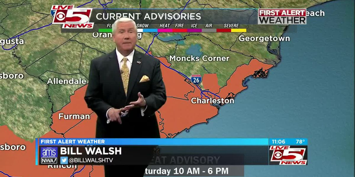 VIDEO: Heat advisory issued for Saturday