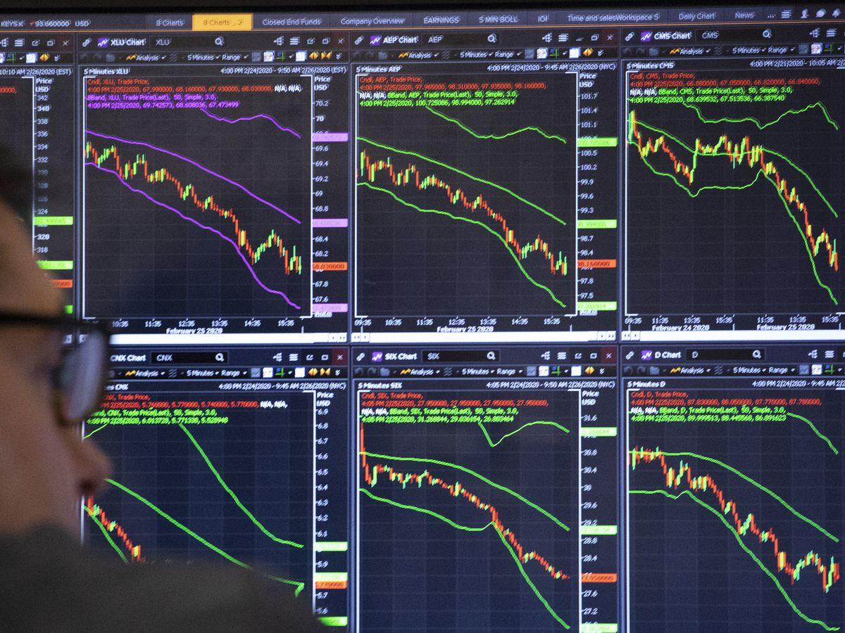 Stocks just 'corrected,' a regular but still scary event