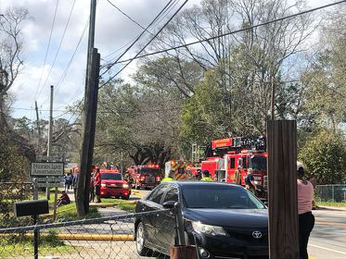 NCFD: 19 people displaced by N. Charleston fire