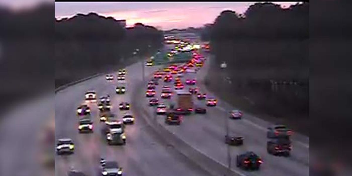 FIRST ALERT TRAFFIC: Morning commute crawls on I-26E after multiple crashes