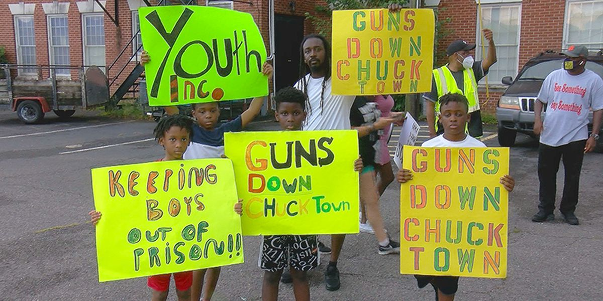 North Charleston neighborhood march aims to end violence
