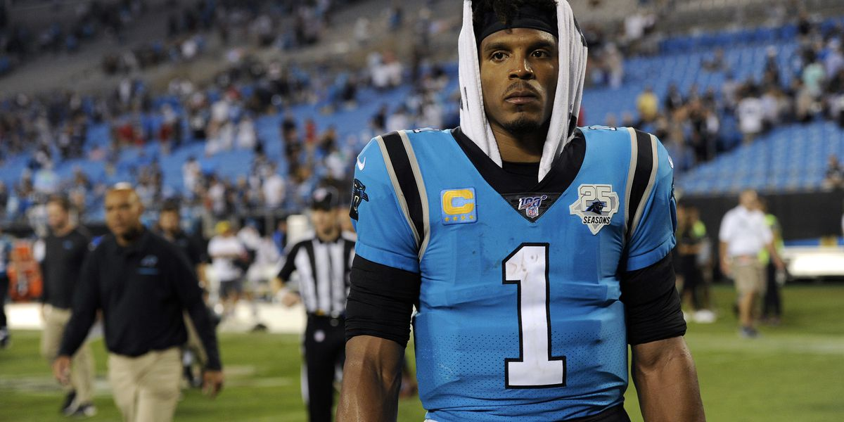 Cam Newton feels like 'fish out of water' as free agent