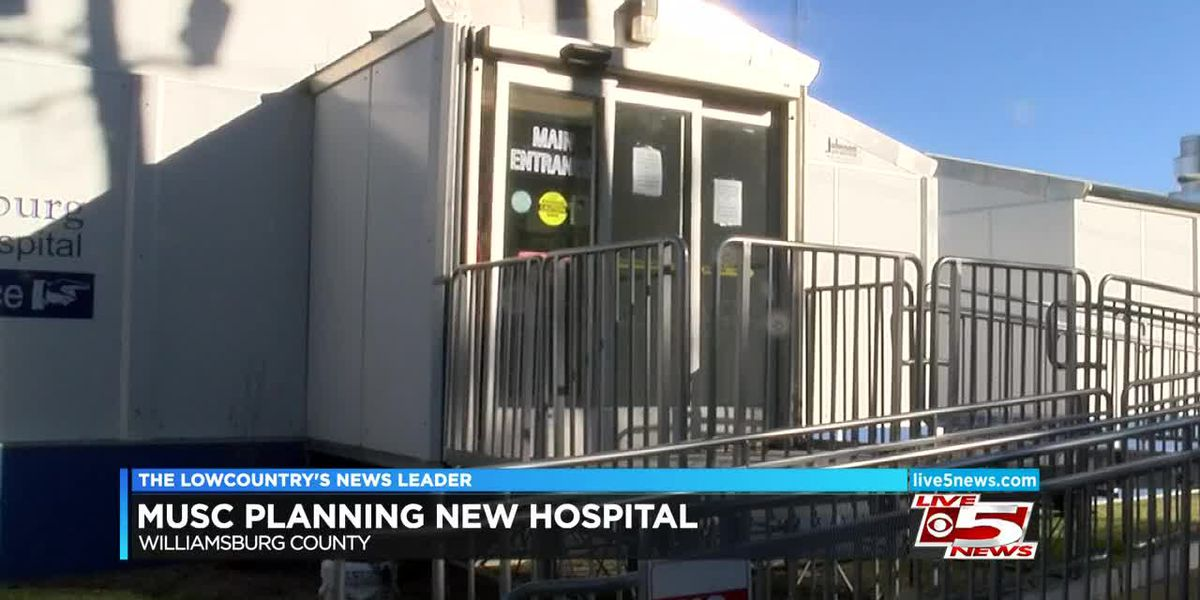 VIDEO: For Williamsburg County, proposed MUSC hospital marks 'new hope' for rural healthcare