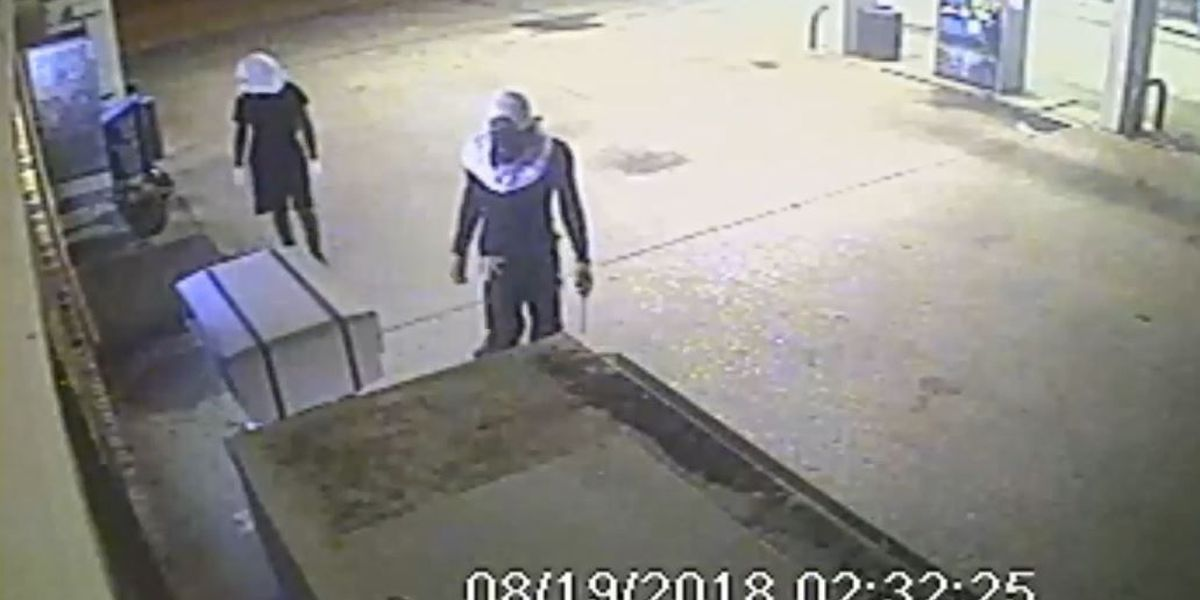 Deputies looking to identify suspects in attempted gas station break-in