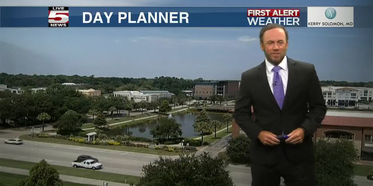 VIDEO: Your Tuesday evening forecast