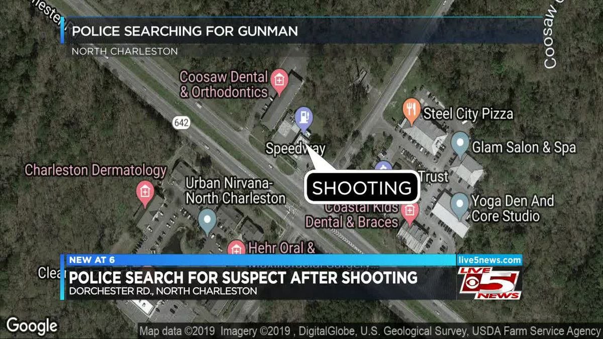 VIDEO: Police search for gunman after victim wounded in