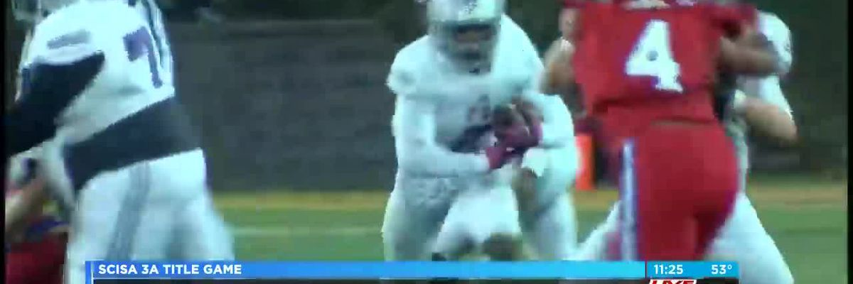 VIDEO: First Baptist falls in SCISA 3A state title game to Hammond