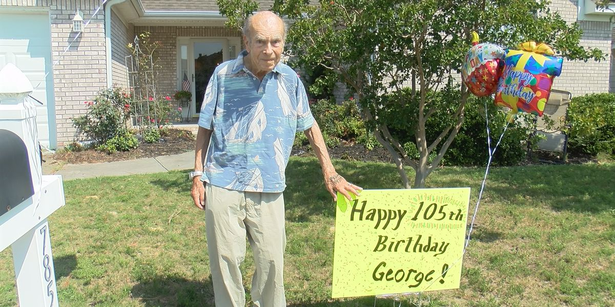 'I hope to live forever:' Wilmington resident celebrates 105th birthday