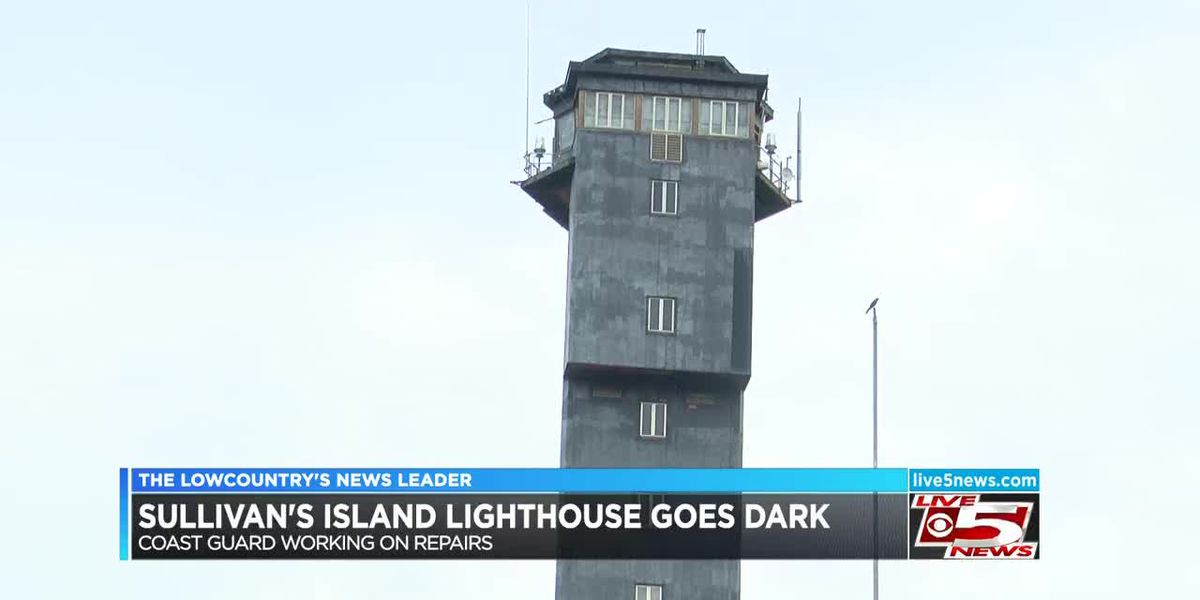 VIDEO: Repairs underway at Sullivan's Island lighthouse to get light back on