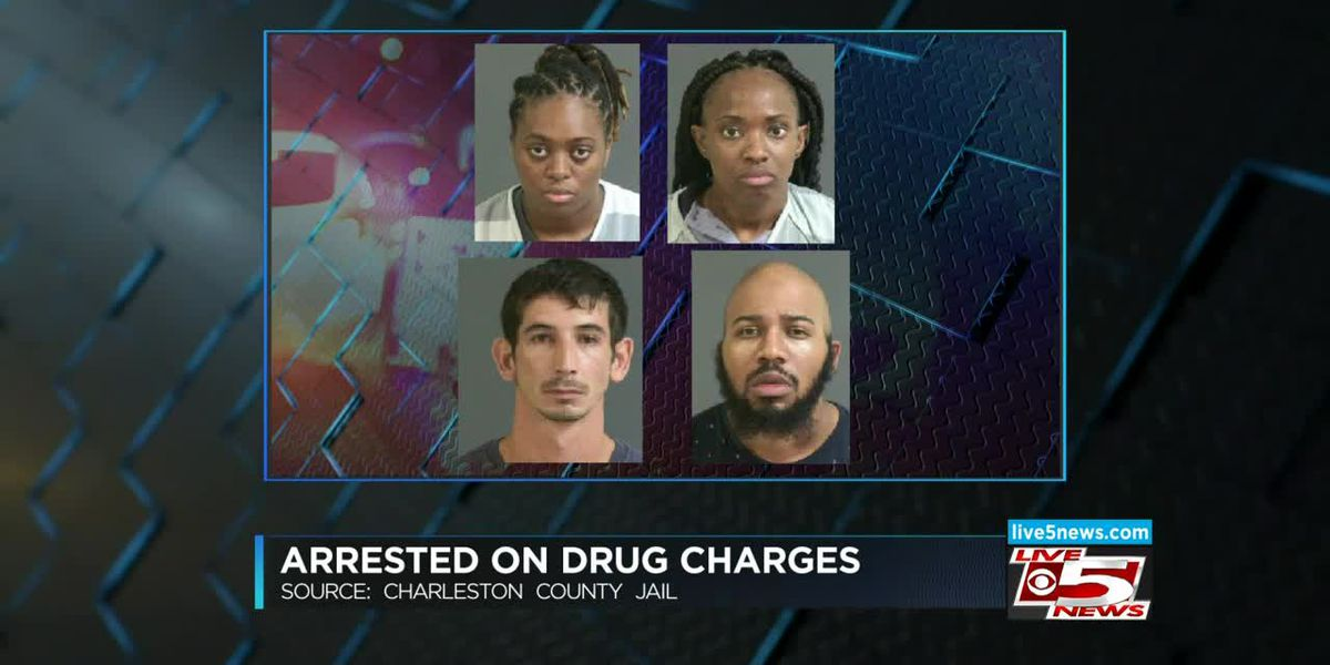 VIDEO: Four postal workers accused of smuggling drugs at N. Charleston post office