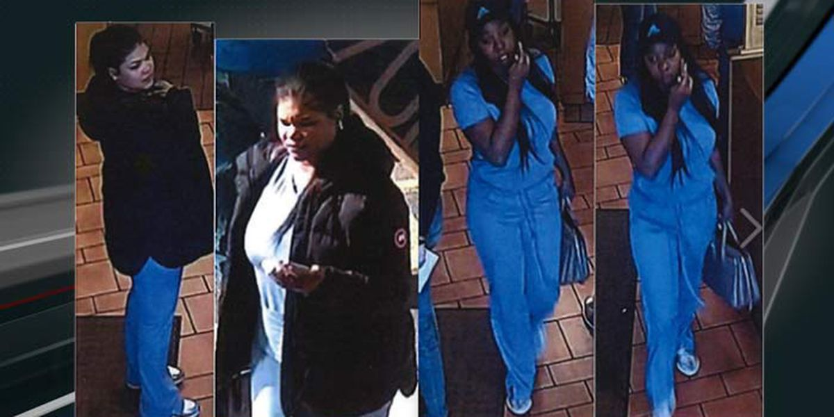 Police trying to identify 2 in credit card theft case