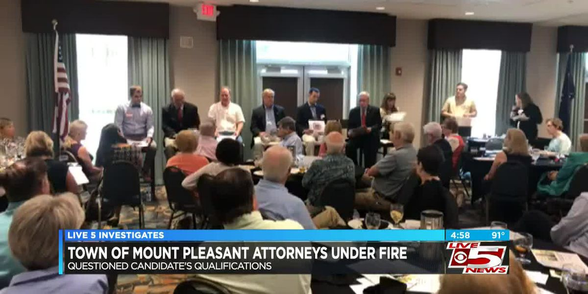 VIDEO: Mt. Pleasant town attorneys under fire for questioning candidate's qualifications