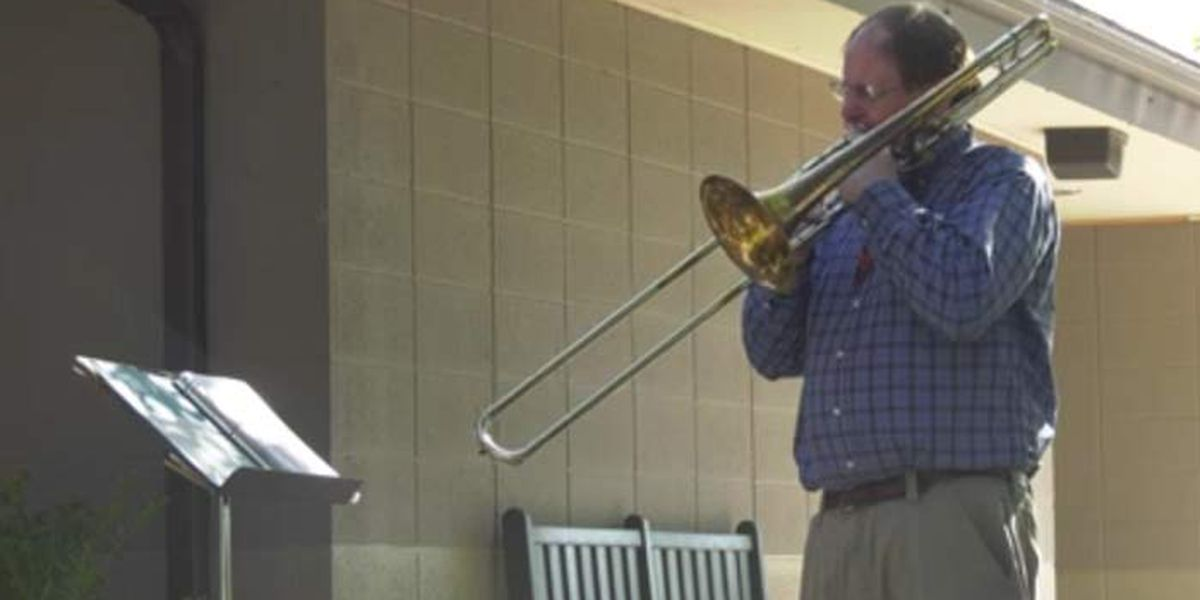 Man drives 2,000 miles to play trombone for brother