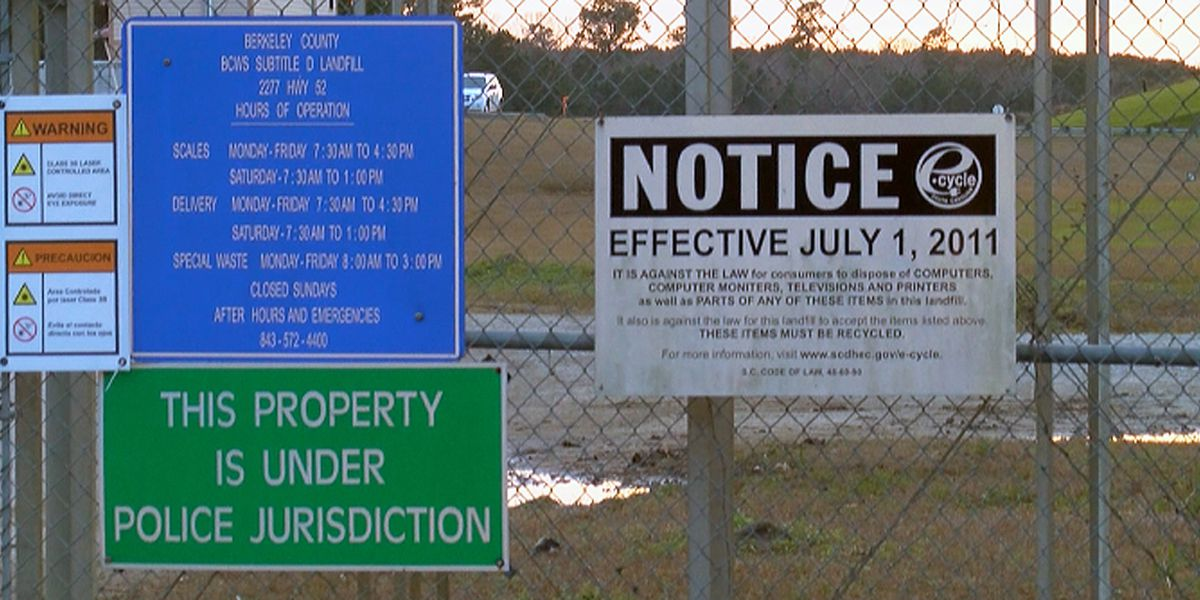 Berkeley County working to control landfill odor making residents sick