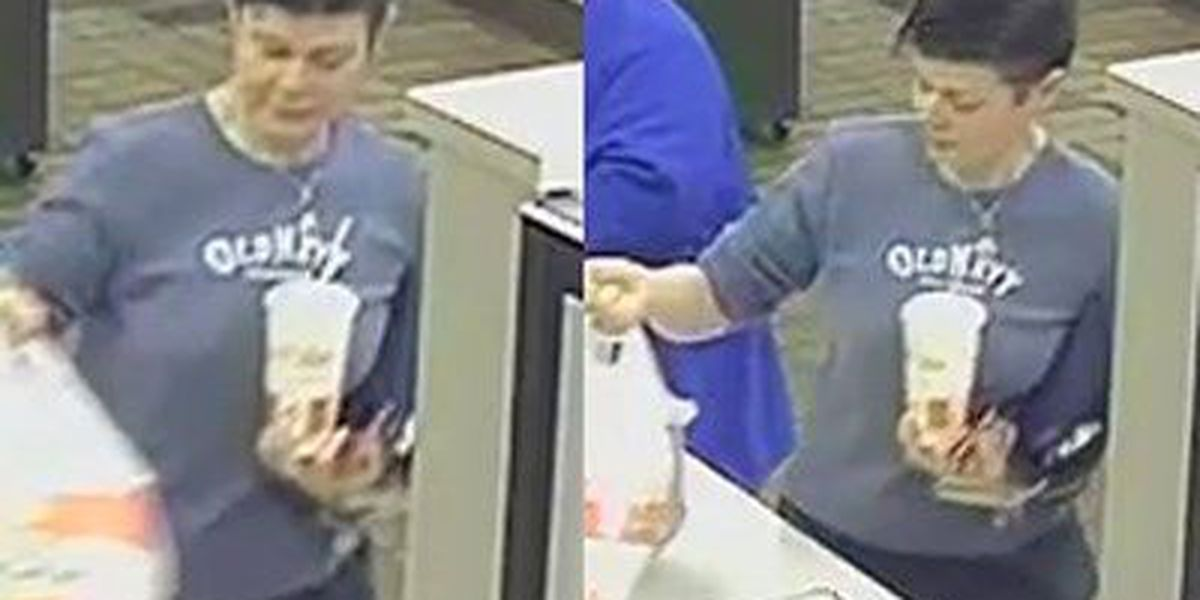 Police seeking to identify woman in connection to stolen credit card used at KFC