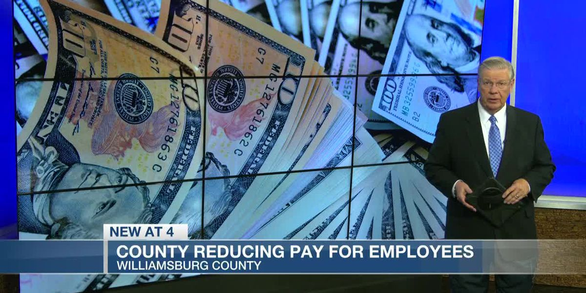 VIDEO: Williamsburg County Council reduces pay for county employees