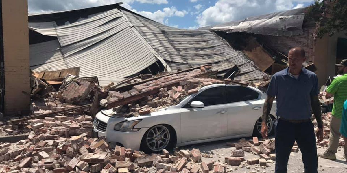 Conway police, fire respond to building collapse; no injuries reported