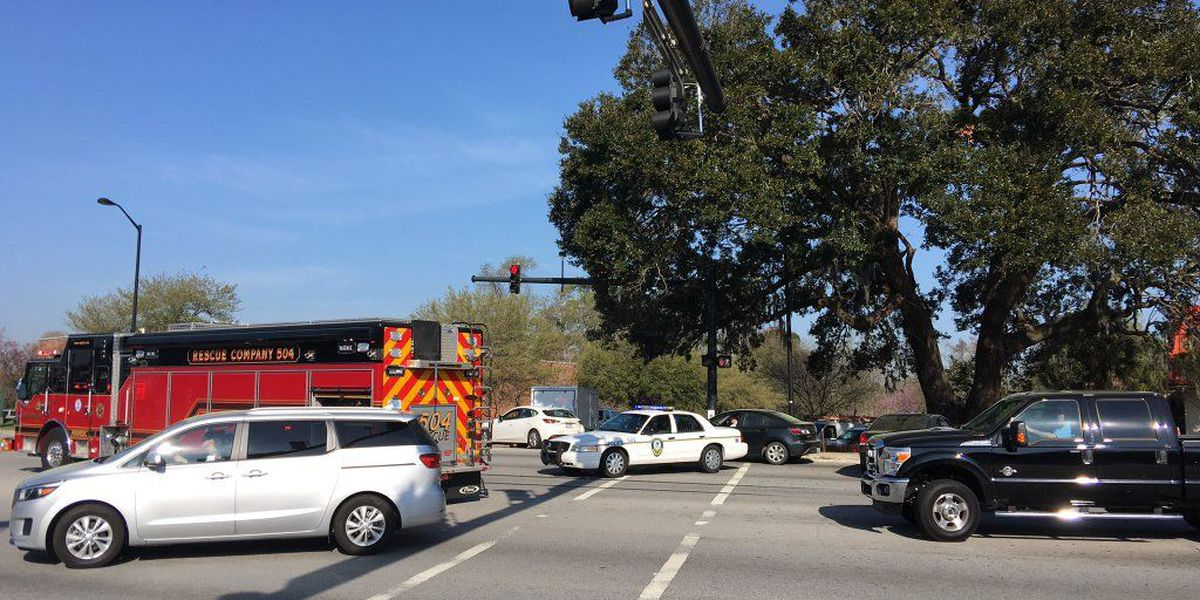 Highway 17 at Market Center Boulevard back open after crash