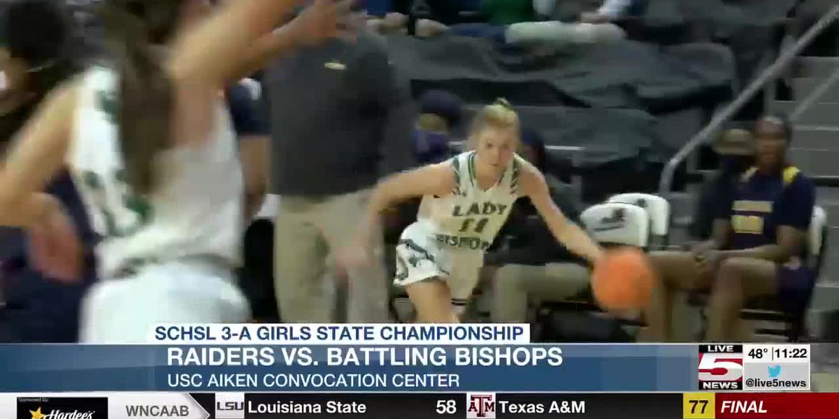 VIDEO: Bishop England girls fall in 3-A state championship game
